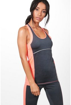 Jessica Fit Racer Back Running Vest