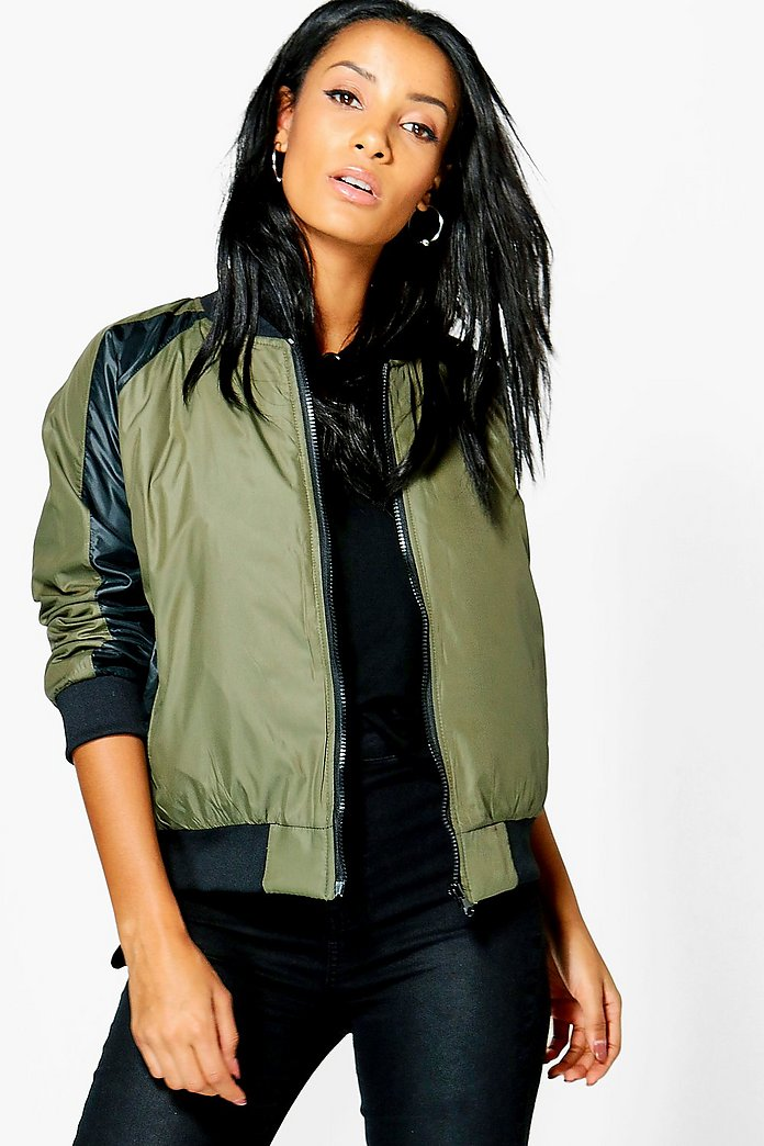 Niamh Quilted Reversible Bomber