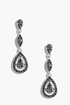 Layla Diamante Elegant Earrings