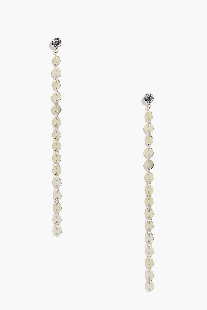 Sofia Long Length Link Earrings