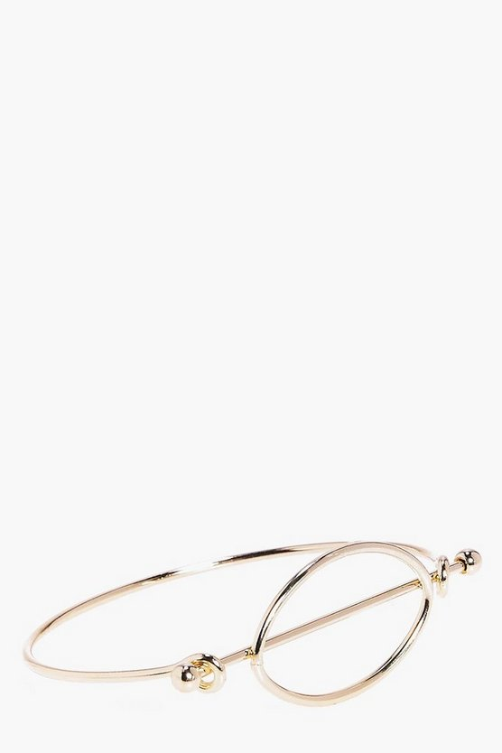 Rosie Circle Detail Bangle