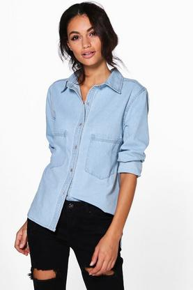 Jenny Oversized Denim Shirt