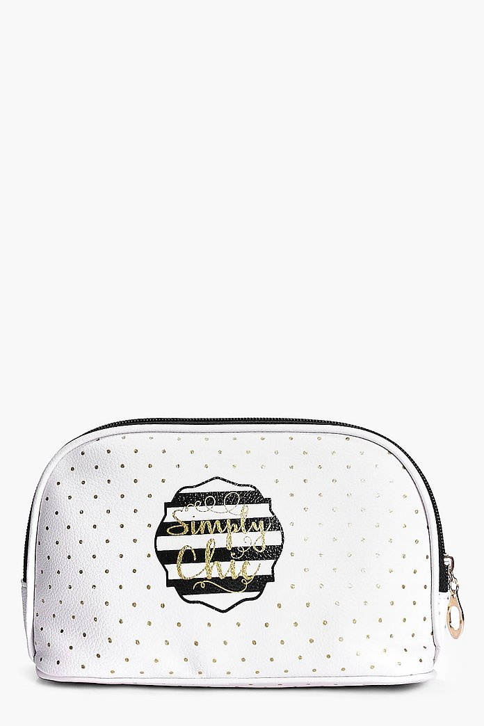Simply Chic Cosmetic Bag