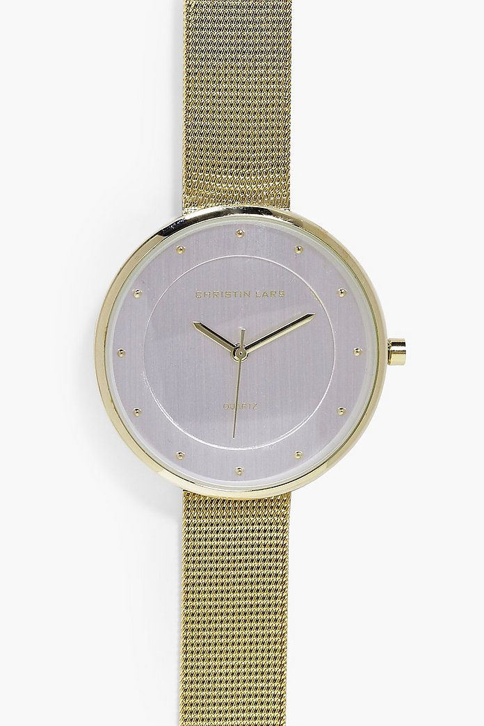 Willow Metal Strap Minimalist Face Watch