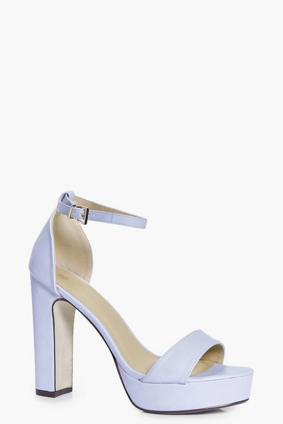 Isobel Platform Two Part Heels