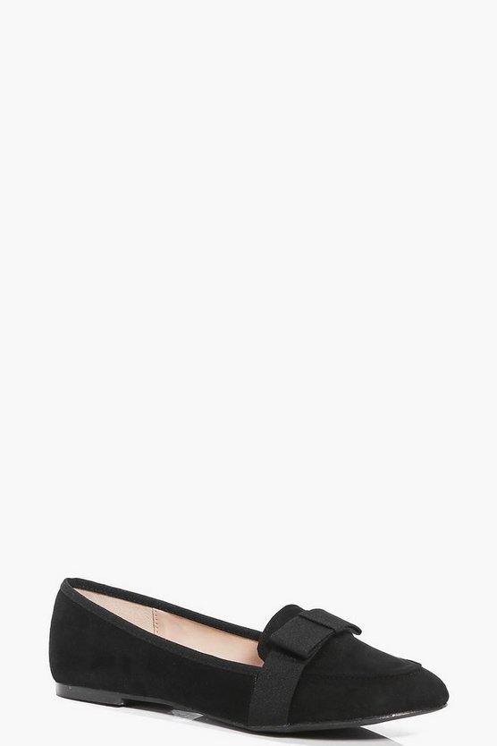 Orla Bow Trim Loafer