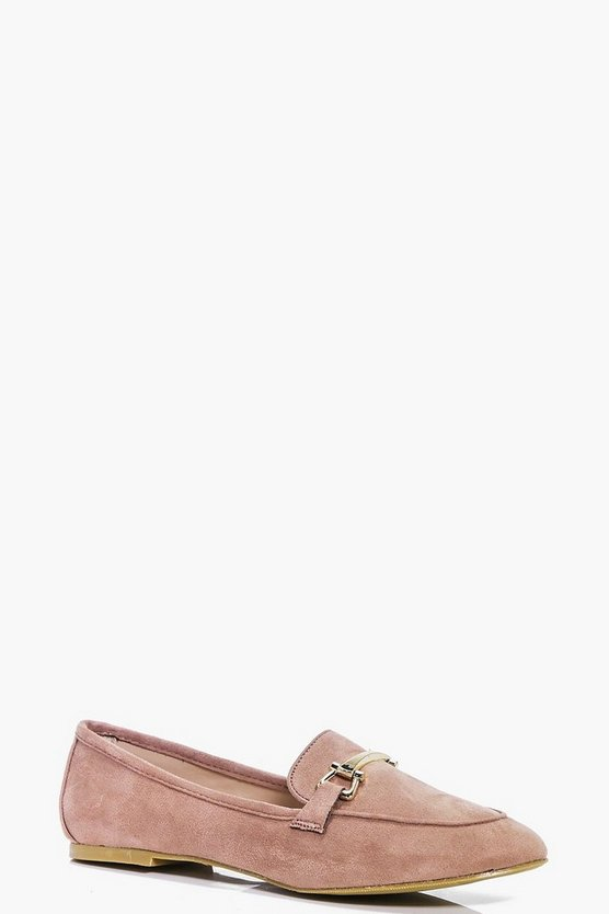 Faye Metal Trim Loafer