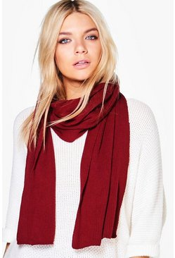 Lucy Super Soft Extra Long Knit Scarf