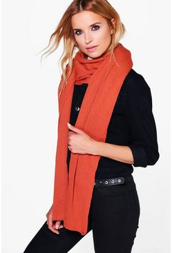 Kara Super Soft Extra Long Knit Scarf