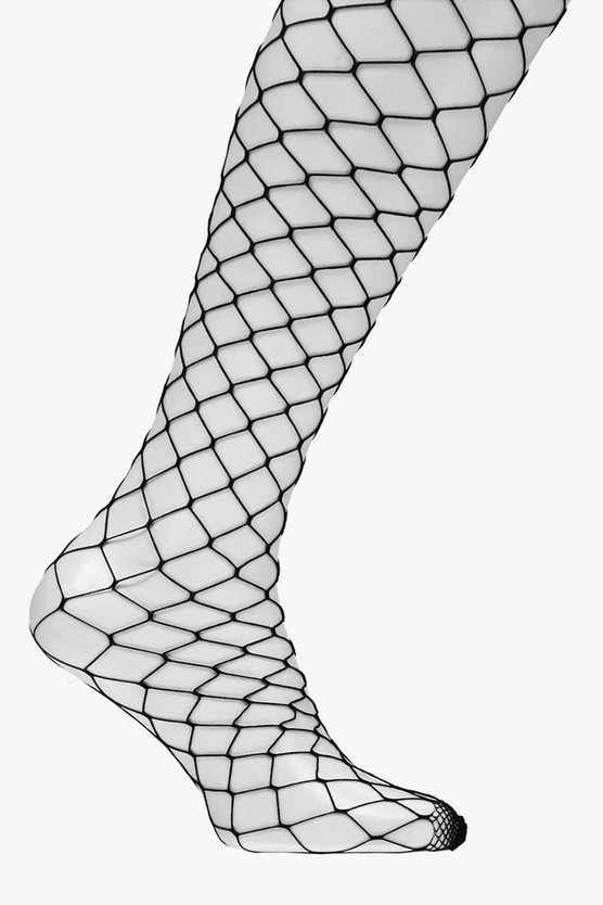 Skye Large Scale Fishnet Tights