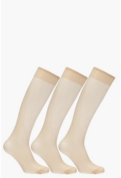 Willow 15 Denier Knee High 3 Pack