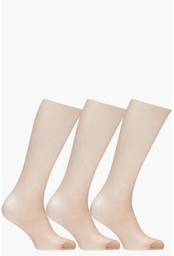 Rose 15 Denier Tights 3 Pack