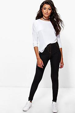 Amelle Turn Up Pocket Back Jeggings