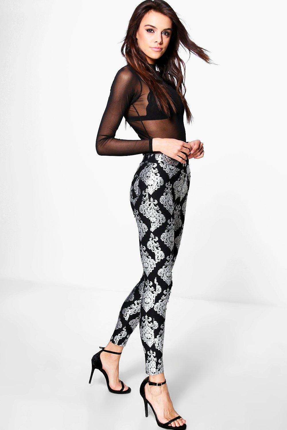 Kaia Baroque Print Leggings