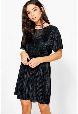 Heather Fine Pleat Dress