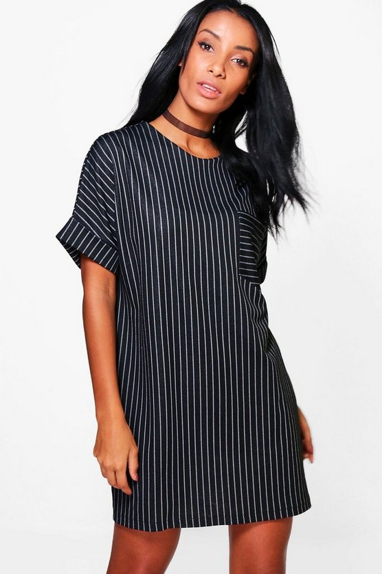 Aria Stripe Woven One Sized Dress