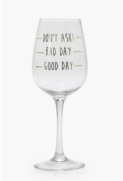 Good Day Wine Glass