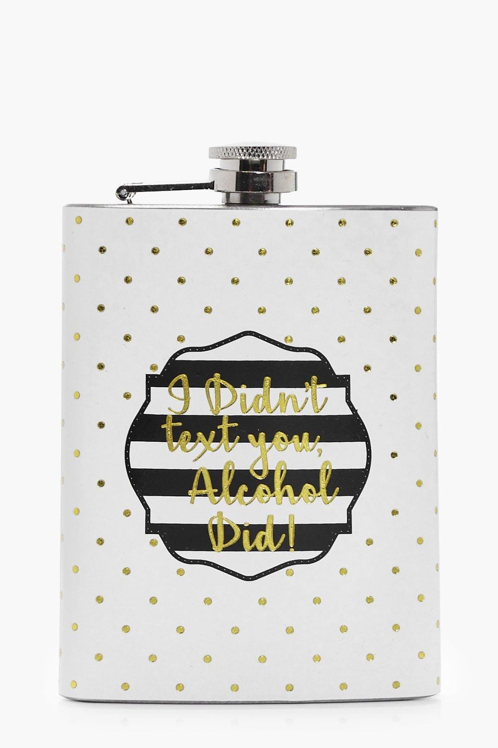 Simply Chic Hip Flask