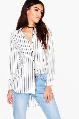 Lacey Ladies Striped Shirt