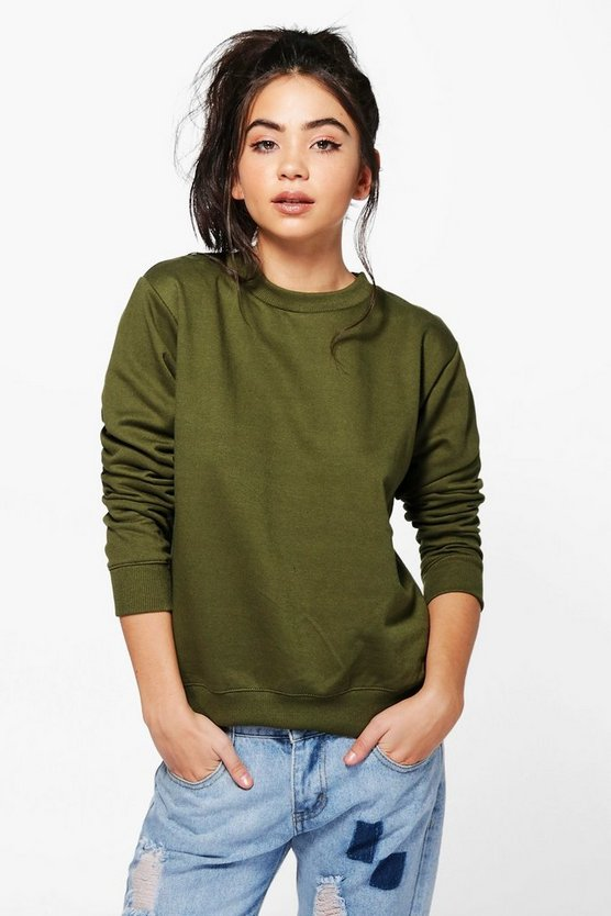 Faye Crew Neck Sweatshirt