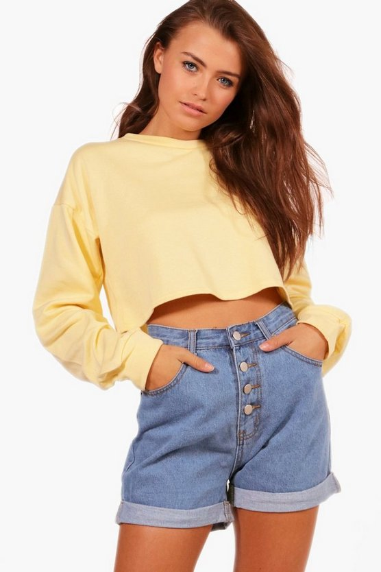 Betsy Crop Oversized Sweat