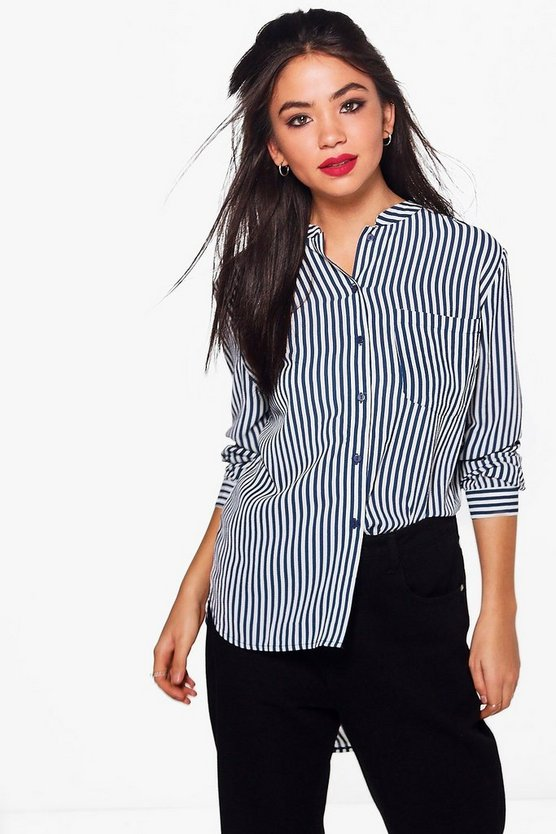 Verity Stripe Woven Shirt