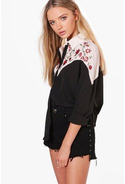 Sofia Boutique Embroidered Shirt