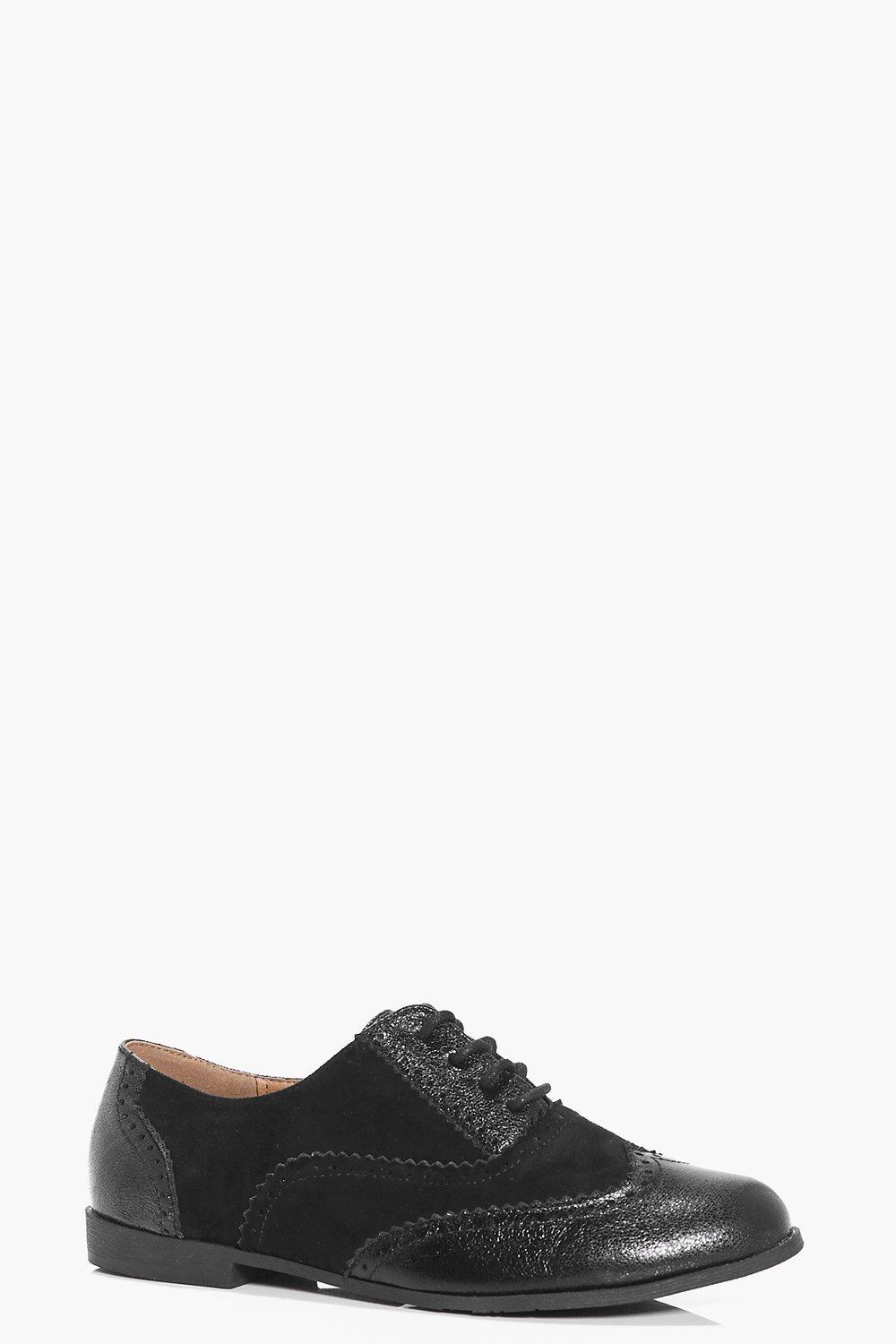 Louise Mix Material Brogue