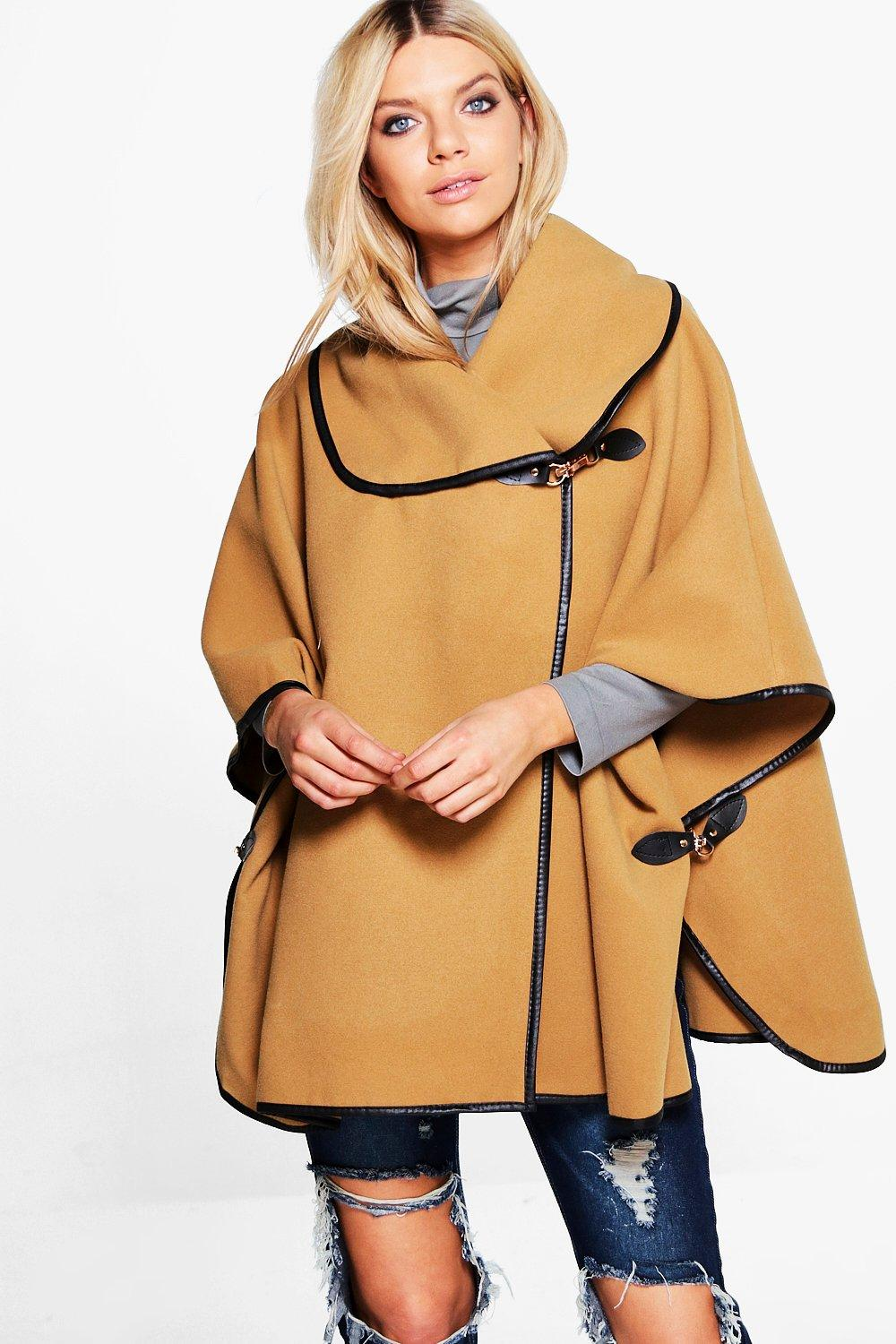 Lucy Wrap Wool Cape