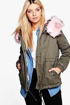 Alice Faux Fur Parka