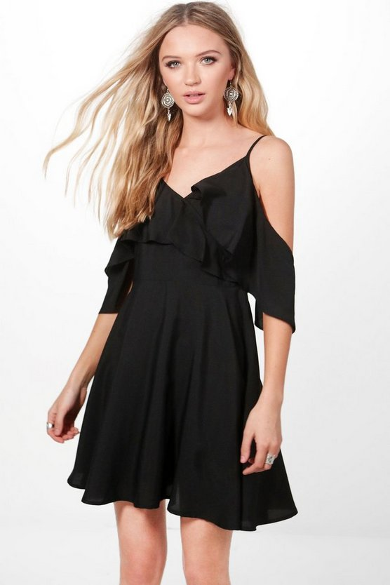 Corin Frill Skater Tea Dress