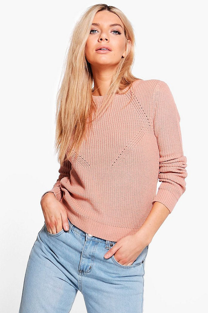 Erin Front Body Stitch Jumper