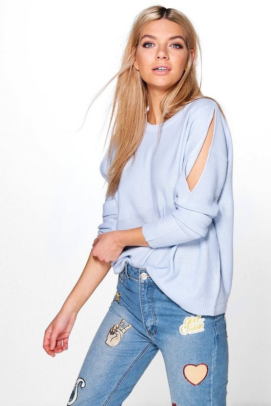 Matilda Cold Shoulder Jumper