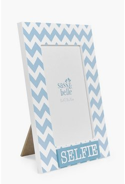 Turquoise Selfie Photo Frame
