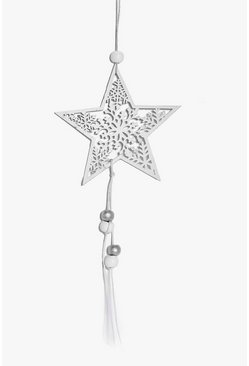 Filigree Christmas Star Decoration