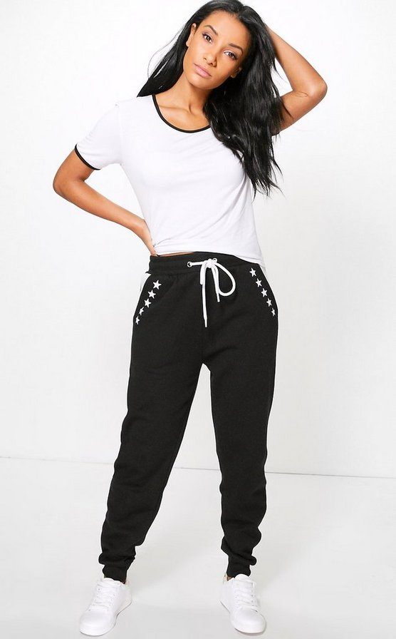 Grecia Star Print Sweat Joggers