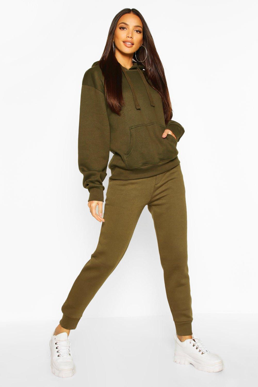Womens Schlichte Jogginghose - military green - 32, Military Green - Boohoo.com