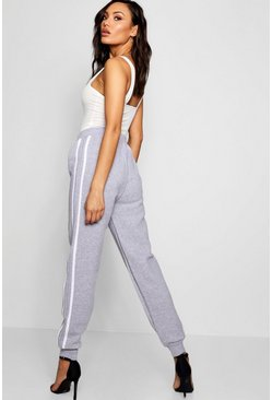Gianna Contrast Side Panel Sweat Joggers