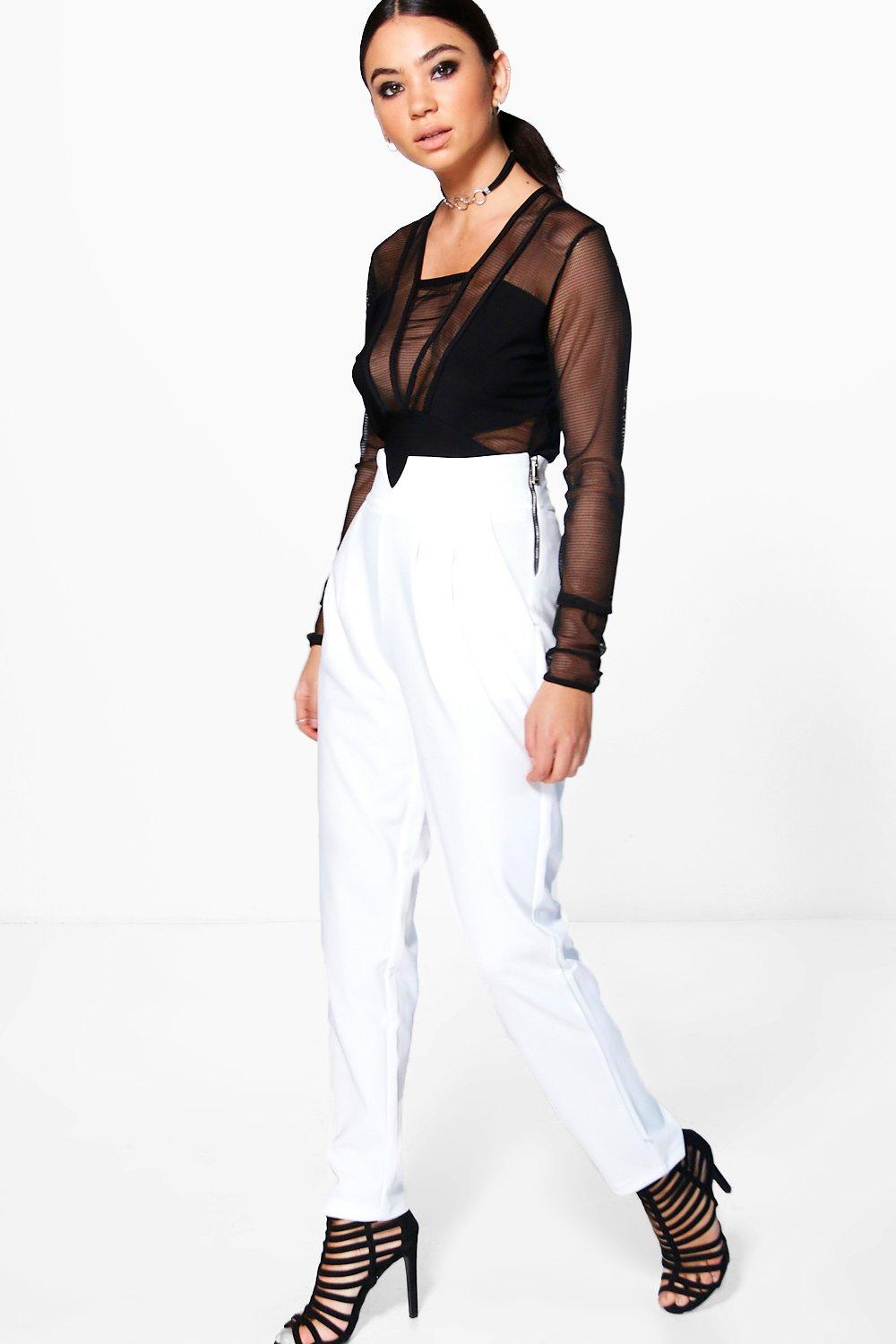 Avah Slim Fit Tailored Trousers