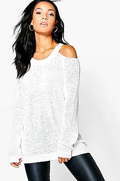 Anna Cold Shoulder Jumper