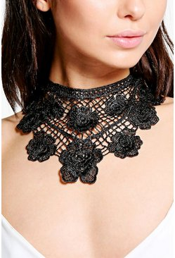 Madison Lace Oversized Statement Choker