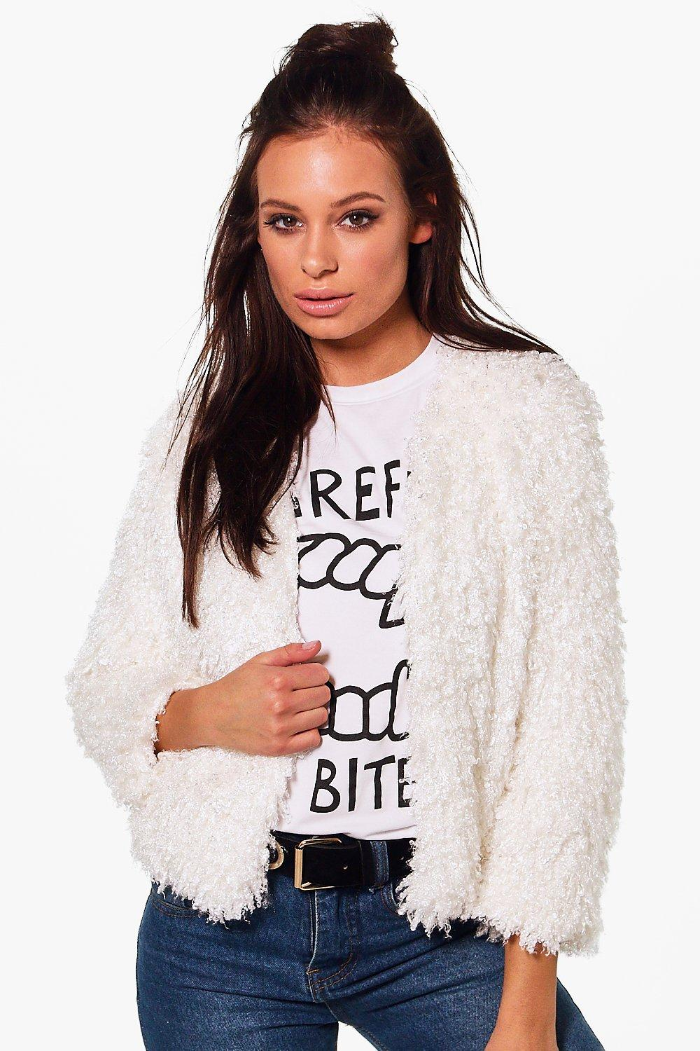 Hannah Short Length Faux Fur Jacket