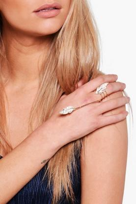 Ellie Diamante Long Bar Ring