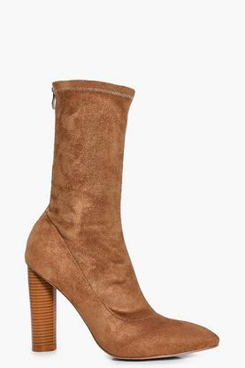 Annabelle Stretch Sock Boot