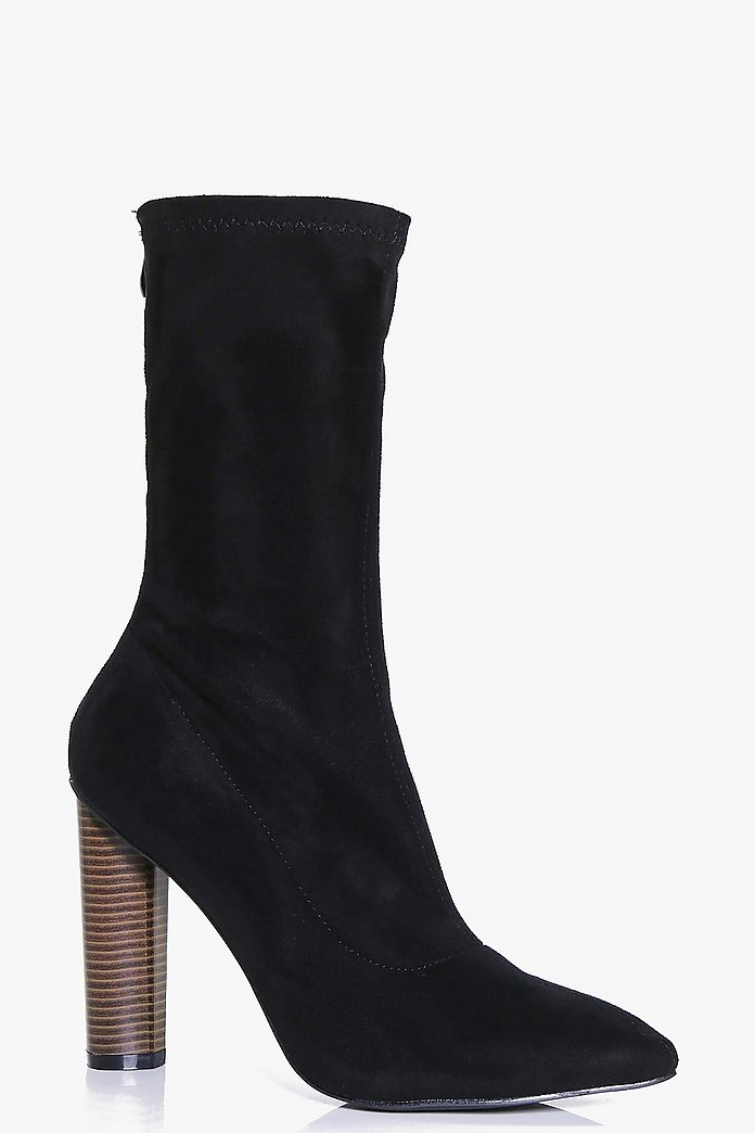 Vanessa Stretch Sock Boot