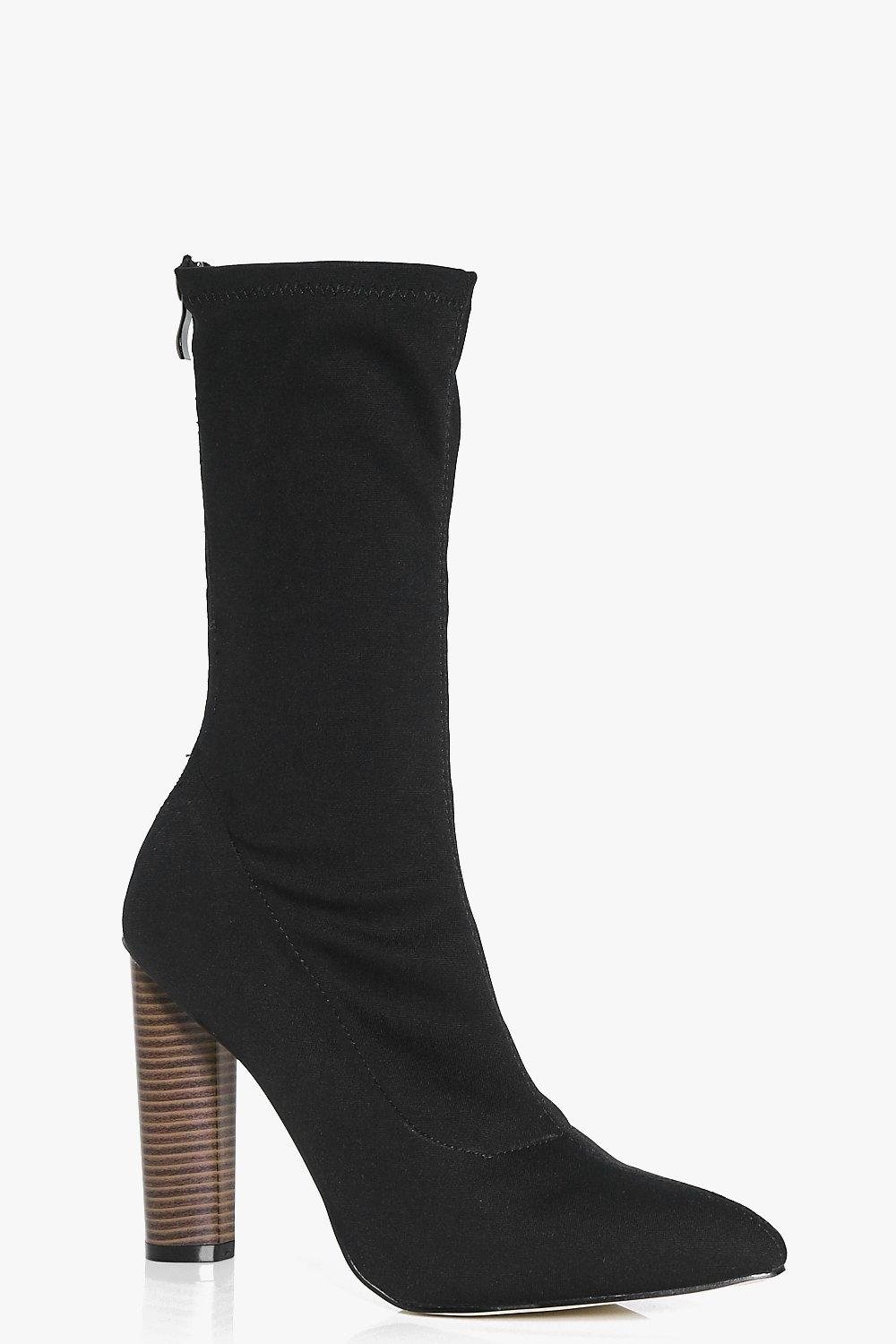 Natasha Stretch Sock Boot