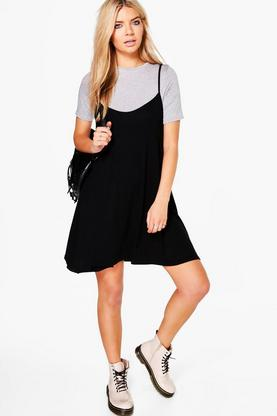 Vita Short Sleeved Cami Shift Dress