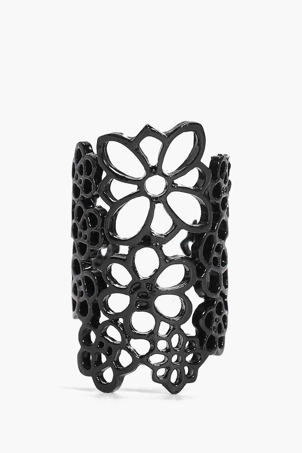 Megan Lace Style Statement Ring