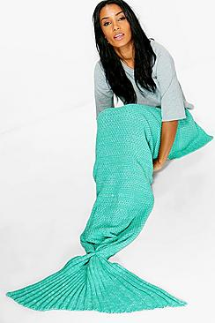 Extra Long Mermaid Tail Blanket