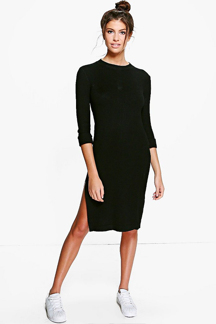 Emma Soft Knit Jumper Dress